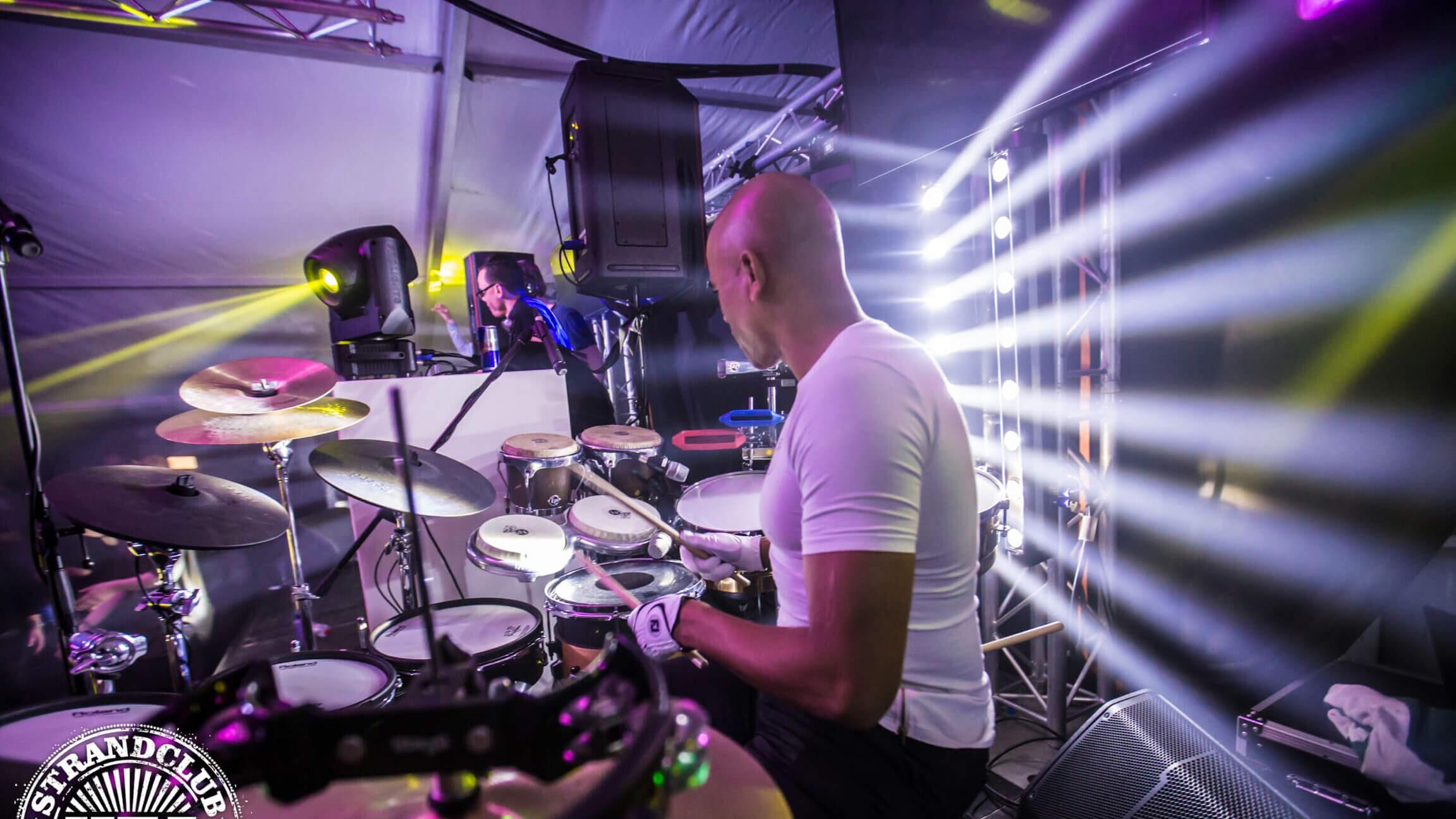 Drums @ Wij Feest Scheveningen