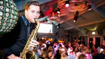 Saxofonist Julian de Munnik