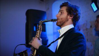 Saxofonist Tom Leeuwenburg Tom Jacks